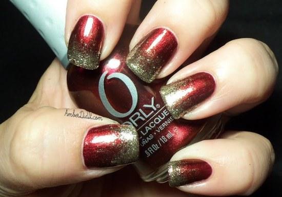 uñas diseños año nuevo 2015 manicure