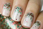 Hermosas ideas para tu próximo Manicure, Diseños de Uñas de Navidad