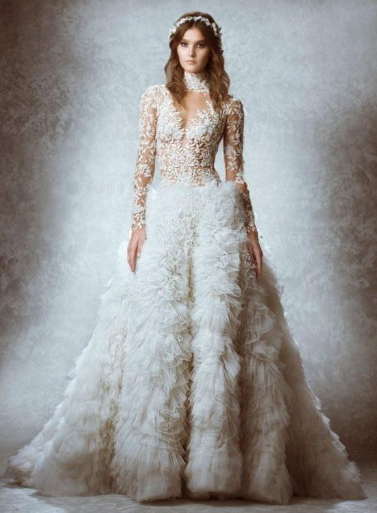 zuhair murad vestidos novias 2015 otoño