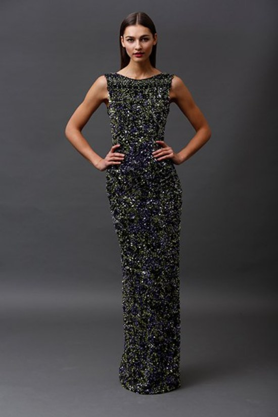 vestidos elegantes badgley mischka 2015