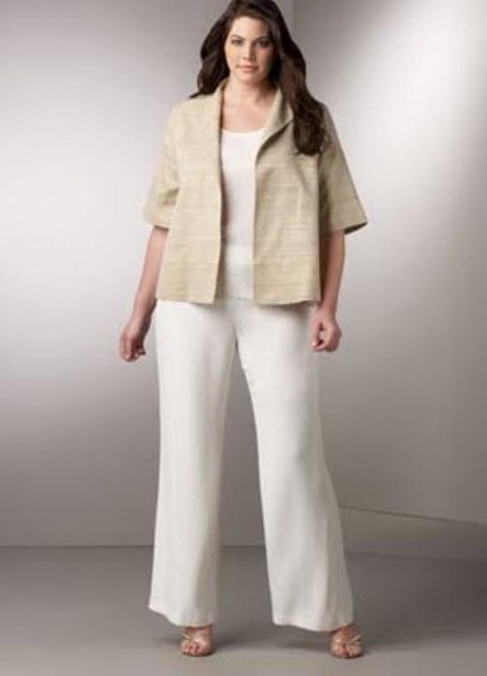 blazer outfits gorditas moda