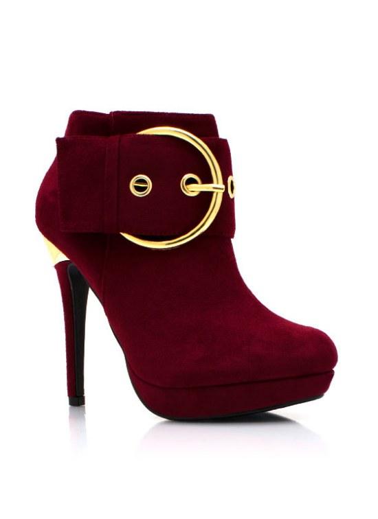 botines booties moda zapatos invierno