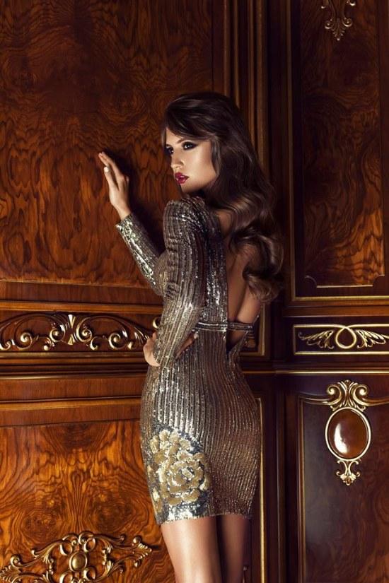 Colección de Vestidos de Noche por Cristallini para Otoño e Invierno 2014/2015