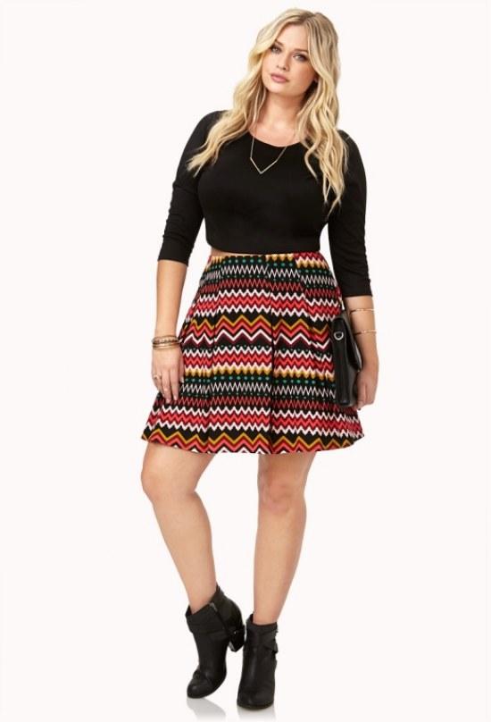 Colección de Faldas tallas grandes a la cintura para Gorditas para Fin de Año