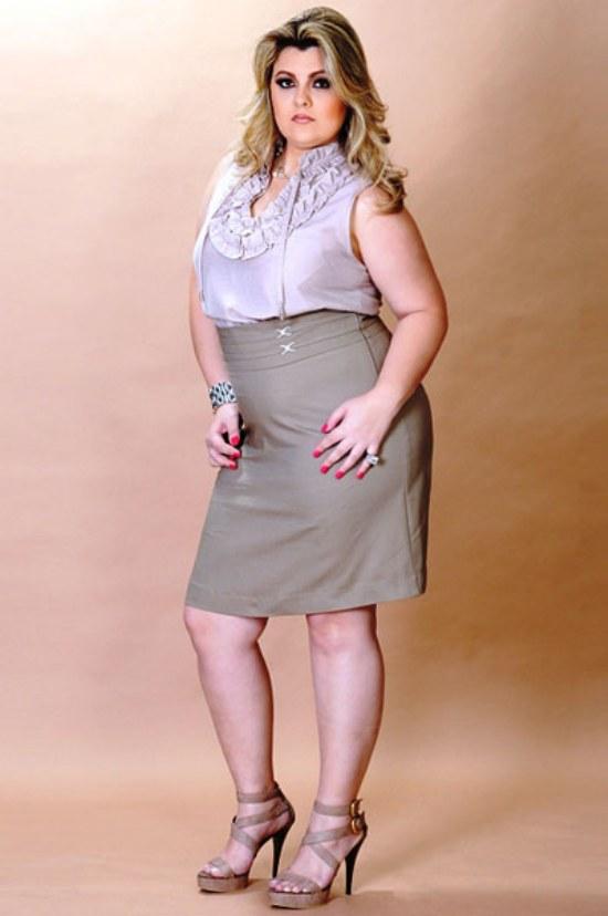 faldas outfits gorditas