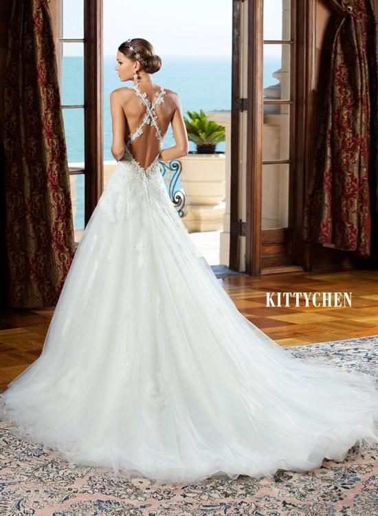 kitty chen couture vestidos novias