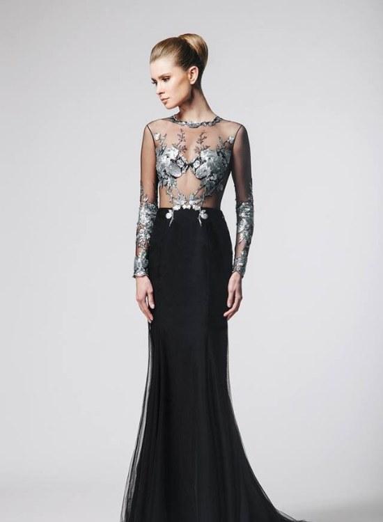 Fabulosa colección de Vestidos de Noche por Nadine Zine otoño e invierno 2014