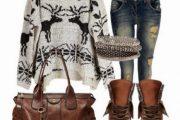 Más combinaciones de Outfits casuales para el Invierno 2014 por Polyvore