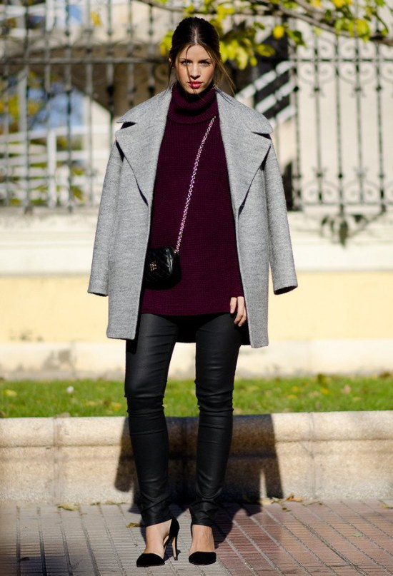 outfits ropa elegante invierno