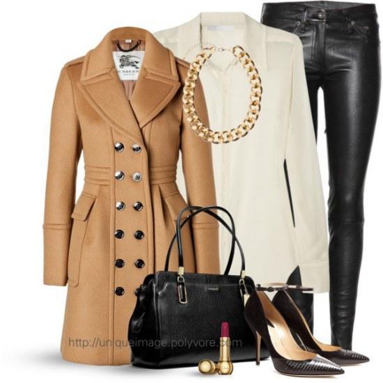 polyvore outfits trabajo ropa invierno