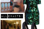 Outfits para Víspera de Año Nuevo 2015 con Vestidos de Lentejuelas por Polyvore