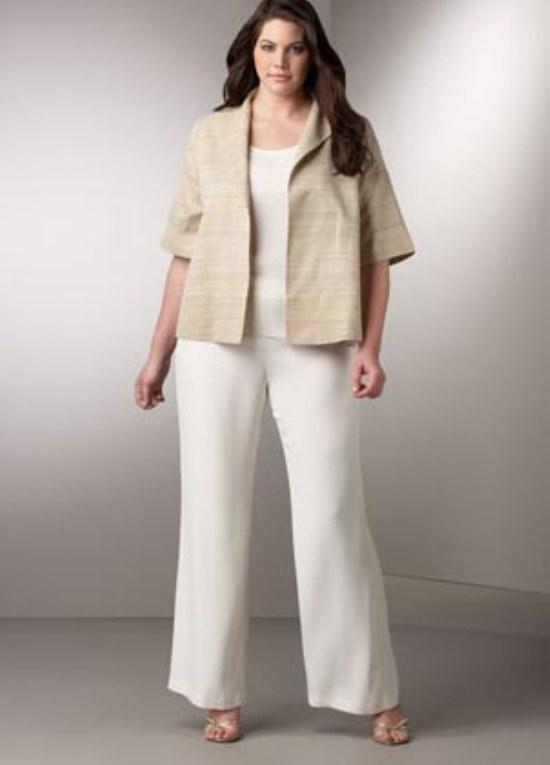 pantalones blusas casuales gorditas