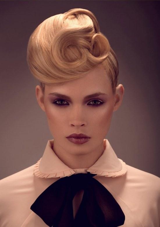 peinados dramaticos modernos extravagantes