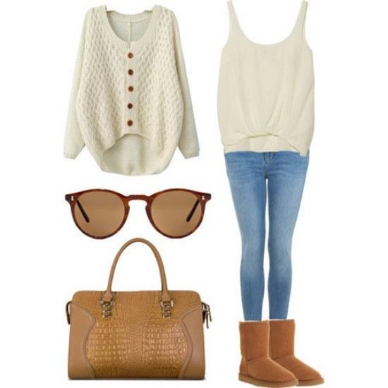 outfits combinaciones polyvore invierno
