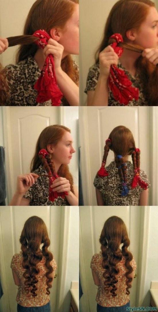 Como hacer el cabello rizado naturalmente