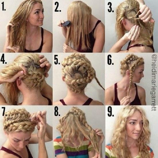 cabello rizo ondulado tutoriales