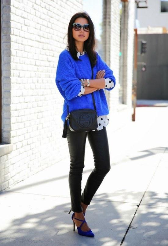 outfits con sueteres moda invierno