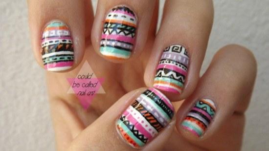 diseños tiernos uñas moda