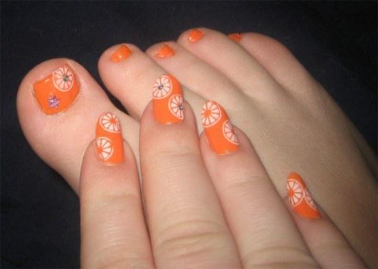 diseños uñas pedicure manicure