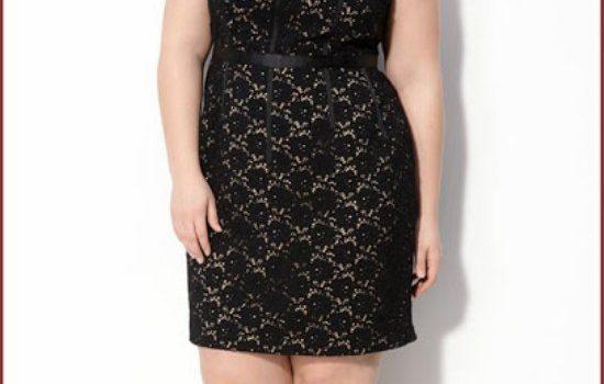 vestidos negros gorditas elegantes