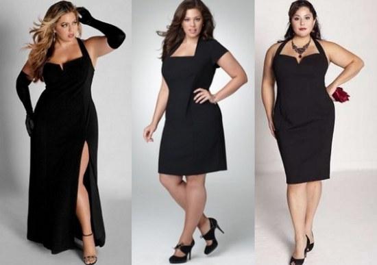 Accesorios vestido negro de noche