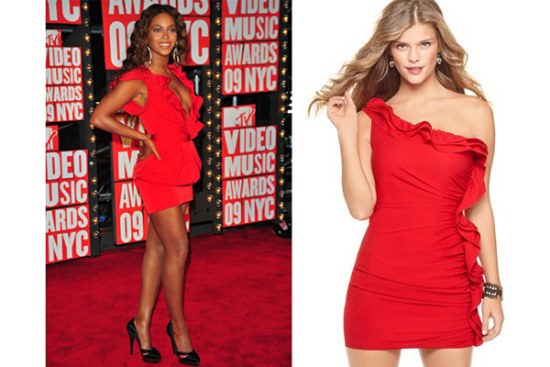 vestidos rojos fin de año