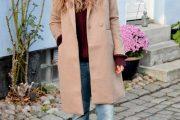 Los Abrigos color Beige son los que mandan en la calle en el Invierno 2014/15