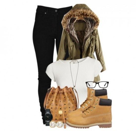Combinaciones de outfits con botas timberland para - Burras para ropa ...