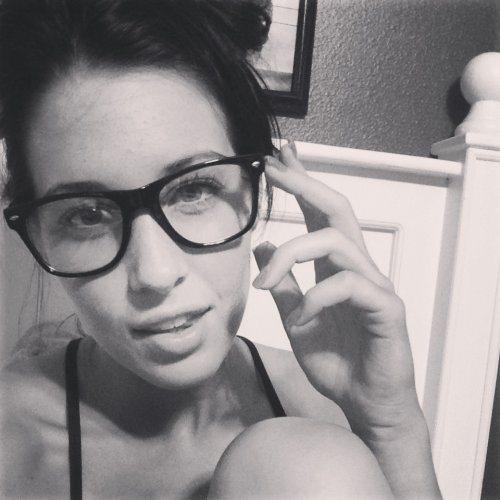 chicas gafas