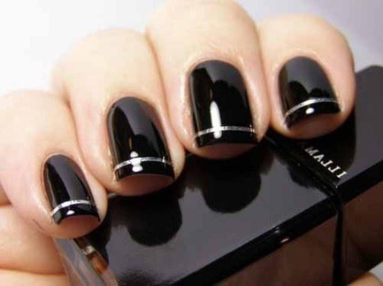 diseños uñas manicure noche