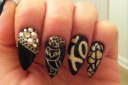 Ideas de lindos Diseños de Manicure para Uñas largas