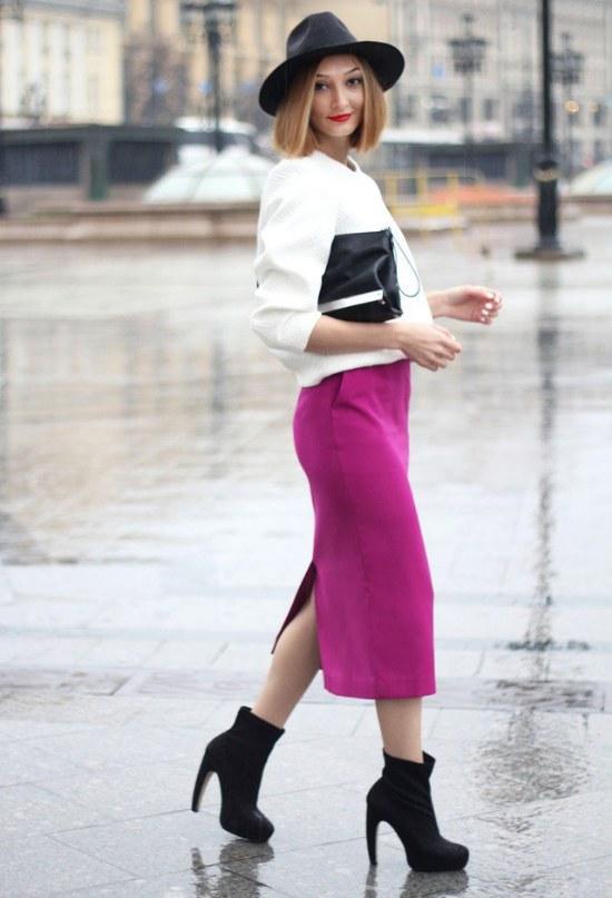 outfits faldas ejecutivas