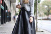 Coquetas Combinaciones de Outfits con Faldas para el Invierno
