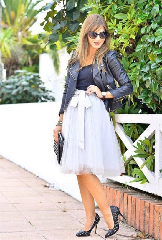 outfits faldas primavera