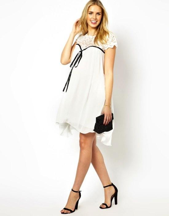 moda ropa embarazadas vestidos