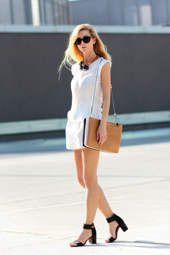 ropa toda blanca moda primavera