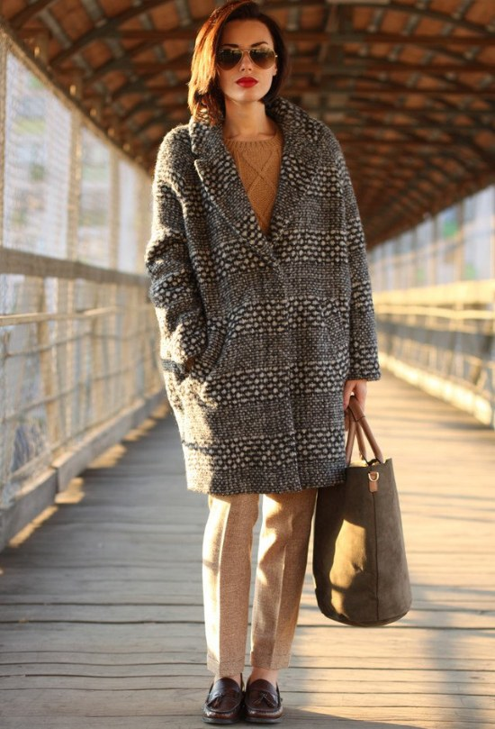 outfits elegantes invierno