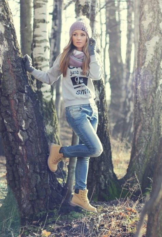 Ropa Juvenil Femenina de Moda Invierno Ropa Atuendo Moda Invierno
