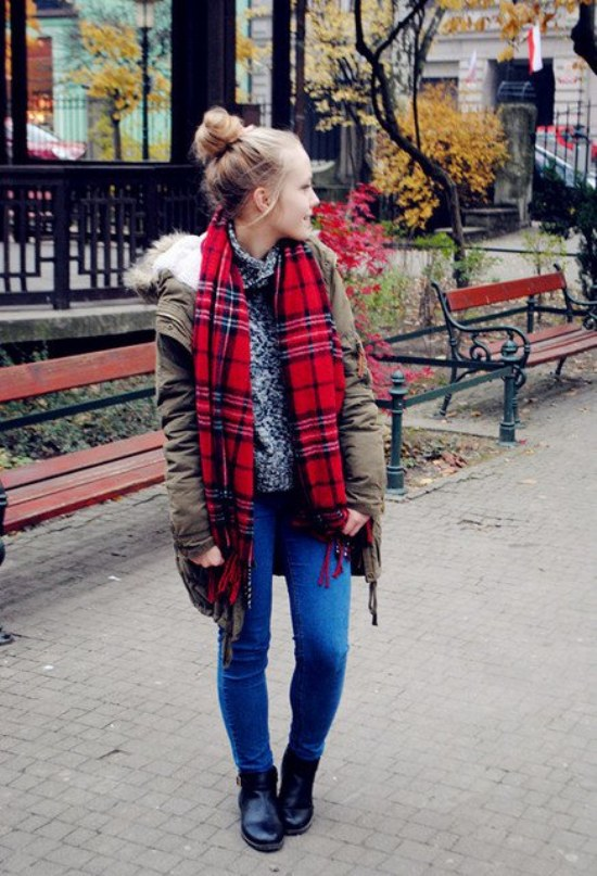 ropa atuendo moda invierno