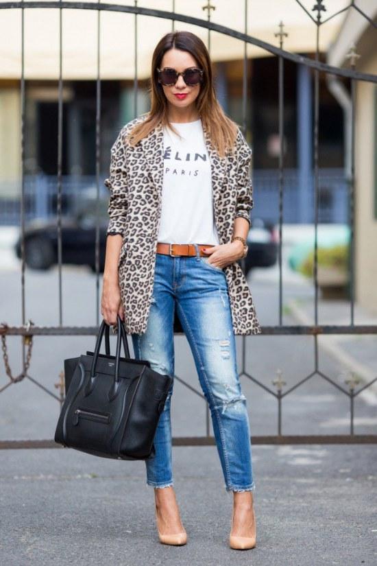Coquetas Combinaciones de Outfits con Jeans para este Invierno | AquiModa.com