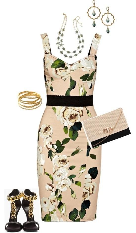 outfits polyvore vestidos fiestas