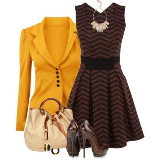 Las prendas de vestir color mostaza son la nueva tendencia para invierno - Ropa interior combinaciones ...