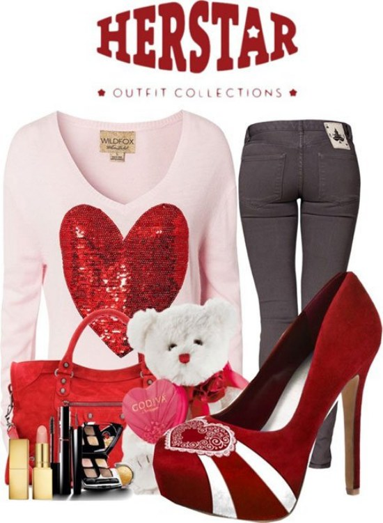 outfits san valentin ropa