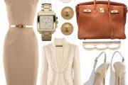 Combinaciones de Outfits Elegantes para ir al Trabajo por Polyvore