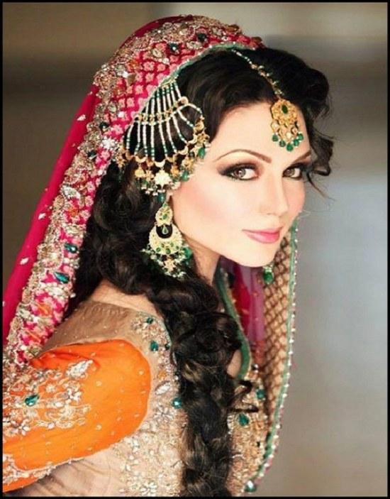 ideas peinado maquillaje hindu