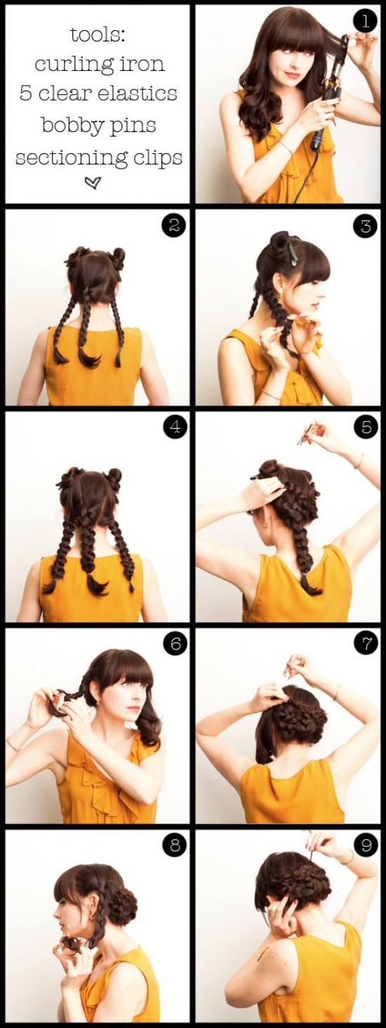 peinados para san valentin