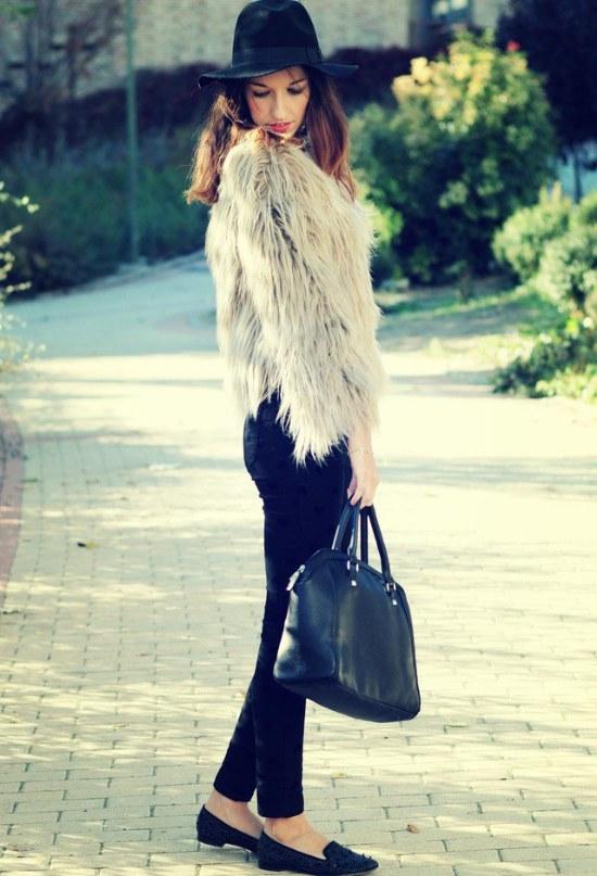 chaquetas de pelos moda