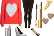 Combinaciones de Outfits casuales para el día de San Valentín