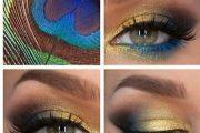 10 Ideas de Maquillaje de Sombras para Ojos Coloridas