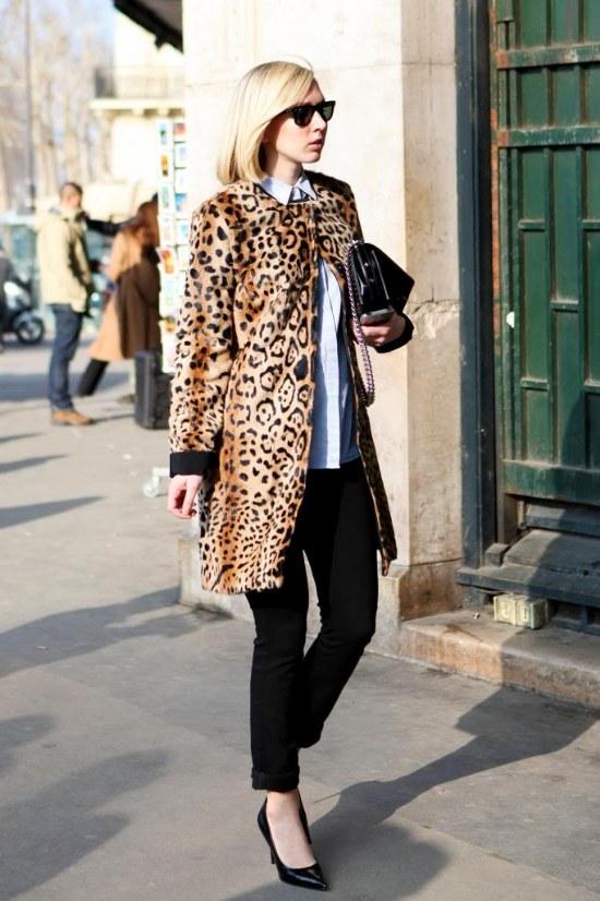Agrégale a tu Outfit un Abrigo con estampado para este Invierno